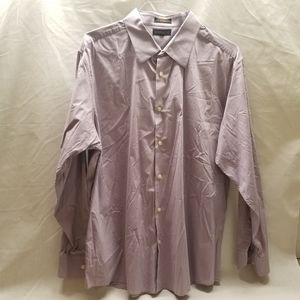 Metropolitan Mens Size XXL Purple Long Sleeve